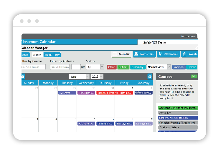 Online Instructor Management and Virtual Meeting Integration Tool