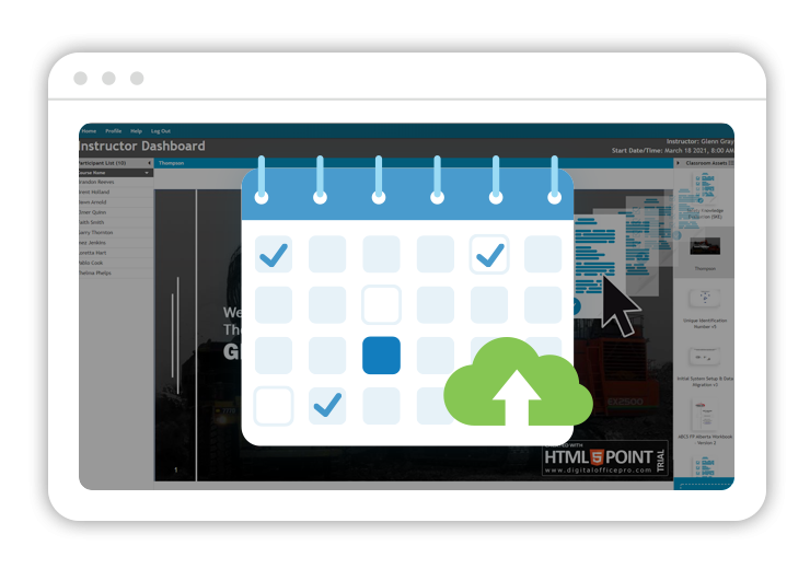 Classroom and Course Management Software