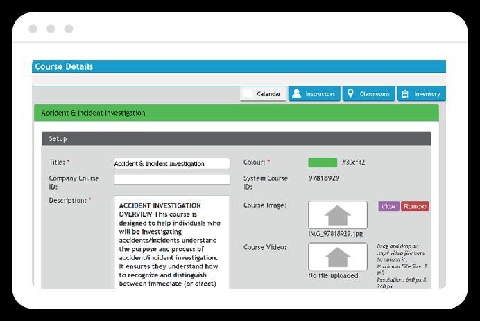 SET Safety - Learning Management Software