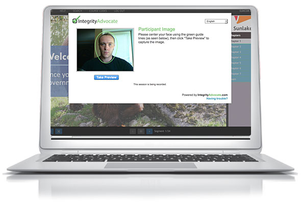 Virtual Proctoring Technology